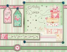 Hunkydory Sent With Love Window to the Heart Luxury Card Kit - Simply Special Crafts Birthday For Him, Birthday Wishes, Birthday Cards, Kanban Cards, Tonic Cards, Hunkydory Crafts, Luxury Card, Card Making Kits, Heartfelt Creations