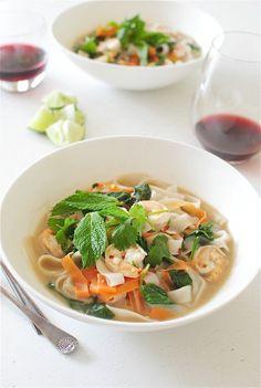 Shrimp Pho / Bev Cooks