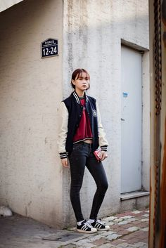 On the street... Yurim Choi Daegu ~ echeveau