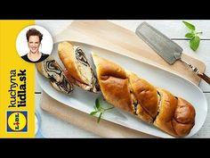 Pudingoš | Adriana Poláková | Kuchyna Lidla - YouTube Baking Videos, Lidl, Hot Dog Buns, Bread, Youtube, Basket, Brot, Baking, Breads