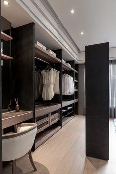 Walk In Closet Design, Closet Designs, Bedroom Themes, Bedroom Decor, Dressing Room Design, Master Bedroom Closet, Wardrobe Closet, Dream Rooms, House Design