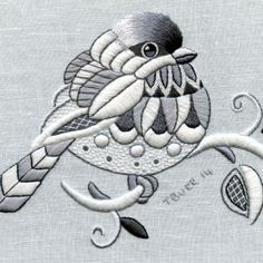 Portfolio « Trish Burr Embroidery