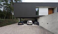 Casa unifamiliar minimalista, proyectada por el estudio 123DV | Interiores Minimalistas