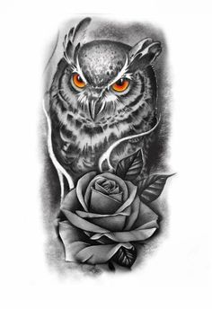 Baby Tattoo Designs, Owl Tattoo Design, Tattoo Design Drawings, Chicano Art Tattoos, Tribal Arm Tattoos, Body Art Tattoos, Owl Eye Tattoo, Tiger Head Tattoo, Tattoo Outline Drawing
