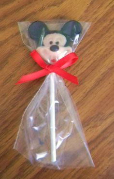 12 Mickey Mouse Clubhouse Chocolate Lollipops $16.50 #etsy #mickey #disney #chocolate