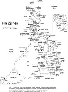 Philippines Map Black And White.11 Best Philippine Map Images Philippine Map Philippines Drinkware