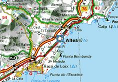 Altea is called JEWEL on the Costa Blanca and is located at the southern slopes of the Sierra Bernia, between Valencia and Alicante in the center of Spain's east coast.