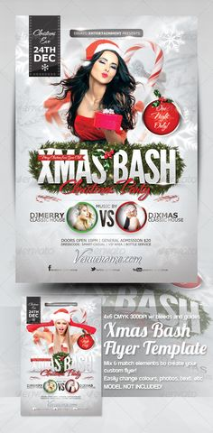 Xmas Bash Flyer Template - Events Flyers