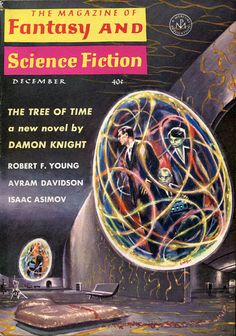 The Magazine of Fantasy and Science Fiction, December 1963. Cover by Ed Emshwiller.
