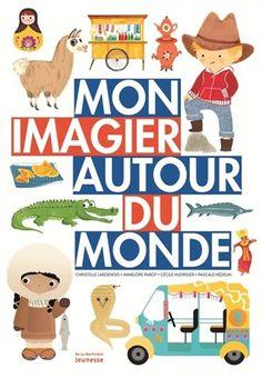Chaque double page présente une région du monde et tous ses objets emblématiques.