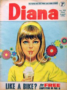 Diana Comic for Girls 1970 Vintage Children's Books, Vintage Comics, Vintage Girls, 1970s Childhood, Childhood Memories, Children's Comics, Summer Books, Arte Pop, Retro Art