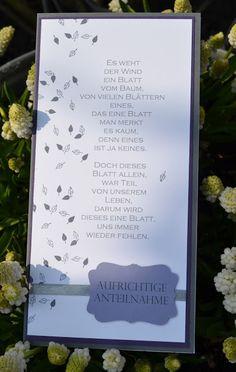 Beileidskarte
