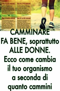 Come cambia il tuo organismo a seconda di quanto cammini There is no physical, aesthetic or health condition for which you can get the same results and benef Wellness Fitness, Yoga Fitness, Health Fitness, Health Benefits, Health Tips, Health Care, Natural Teething Remedies, Natural Remedies, Health And Wellness Center