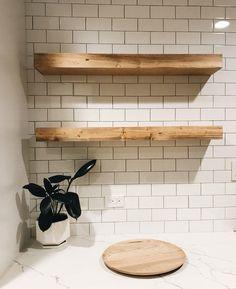 Solid Wood Shelves, Wood Floating Shelves, Small Shelves, Rustic Shelves, Wooden Shelves, Floating Nightstand, Wood Shelf, Shelf Wall, Box Shelves