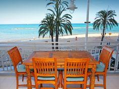 "Appartement ""Las Gaviotas"" in Spanje. Altea, Outdoor Tables, Outdoor Decor, Outdoor Furniture Sets, Home Decor, Gull, Interior Design, Home Interior Design, Home Decoration"