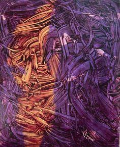 Judy Millar, Untitled (2013), via Artsy.net Artsy Net, Colorful Paintings, Purple Rain, Abstract, Artwork, Stuff Stuff, Summary, Color Paints, Work Of Art