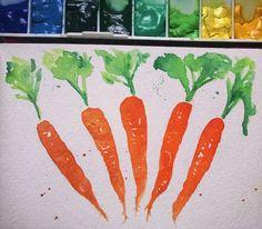 12 -  - Um dia reunirei esses rabiscos de vegetais e plantinhas para fazer um lance de plantas medicinais... Algo do tipo... Por exemplo: Benefícios da cenoura, etc...   #artcriation #luxalt #artstagram #artstudy #art #watercolor #onesketchaday #artchallenge #aquareladodia #aquarela #inspiration #artpractice #umdesenhopordia #rabisco #sketchbook #sketch #traditionalart #vegan #veganart #carrot #watercolorcarrot #cenoura