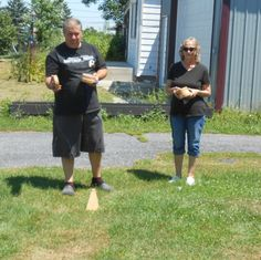 Rollors - The Game That Combines Bocce, Bowling & Horseshoes - Two Classy Chics