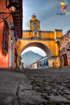 Arco de Santa Catarina en La antigua Guatemala. http://www.Guate360.com