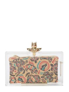 Totem Pandora Clutch by Charlotte Olympia at Gilt