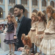 "29.8k Likes, 1,184 Comments - Михаил Зайков скульптор (@michael_zajkov) on Instagram: """"Искусство куклы 2015"" Doll show ""Art of the DOLL"". #искусствокуклы2015 #МихаилЗайков #Москва…"""