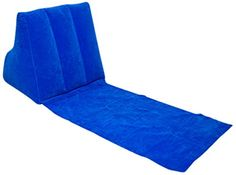 Escape Wicked Wedge Inflatable Lounger - Blue -- Check out this great product. (This is an affiliate link) #GardenDecor