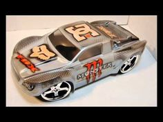 #rcxceleration #rccars CUSTOM PAINTED RC BODY PROLINE DESERT RAT  3284-00 SHORT COURSE