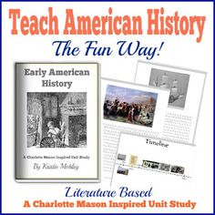Gypsy Road: Review : Early American History Unit Study-Charlotte Mason inspired and on sale!