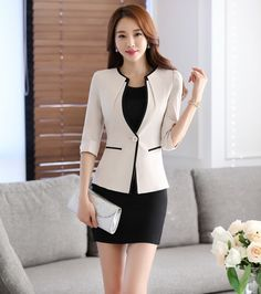 Elegant Pant Suits for Women Womens Business Suits Formal Office ...
