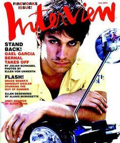 Gael Garcia Bernal - Interview Magazine [United States] (July 2003)