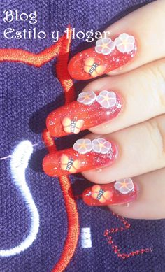 Manicura con materiales de The color workshop