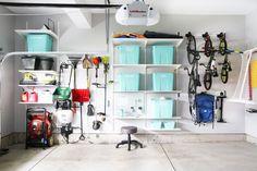 35 Various Ideas to organize Your Garage - Amusing 45 Clever Ideas to organize . - 35 Various Ideas to organize Your Garage – Amusing 45 Clever Ideas to organize … – 35 Vario - Ikea Algot, Storage Bins, Storage Solutions, Storage Spaces, Storage Ideas, Storage Systems, Diy Organizer, Garage Organization, Garage Storage