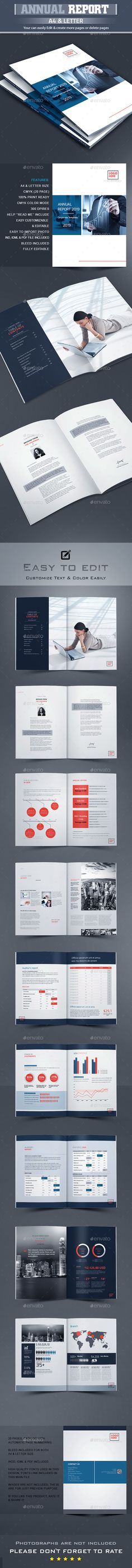 Annual Report Word Words, Brochures and Annual reports