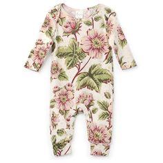 English Garden Floral Print for Precious Pretty Baby Girls! Exclusively Tesa Babe