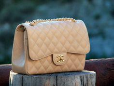 Chanel cream bag