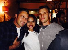 Chicago Fire, what a beautifully casted show!! monica raymund / jesse spencer / taylor kinney