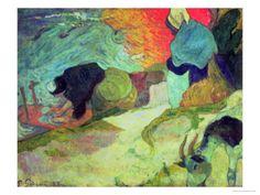 Washerwomen of Arles, 1888 Giclee Print by Paul Gauguin at eu.art.com