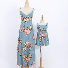 Where can I get first-rate and inexpensive mommy and me outfits? popreal is your best choice to obtain them. Hurry to snap up mother daughter matching outfits. Mother Daughter Matching Shirts, Mother Daughter Outfits, Mommy And Me Outfits, Girls Dresses, Summer Dresses, Elegant Dresses, Boho Dress, My Outfit, Dresses Online