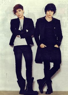 FT Island...Hongki and Jonghun