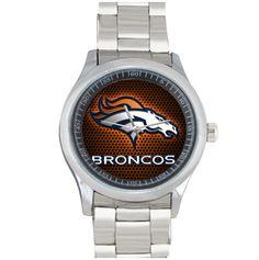 Купить товарДенвер бронкос ( U4983332 ) круглый кварца людей из нержавеющей стали свободного покроя женщины спорт наручные часы бесплатная доставка подарок в категории  на AliExpress.        Средний Индивидуальные часы Высокое качество.                 Эти часы более чем способ.                 Настраив