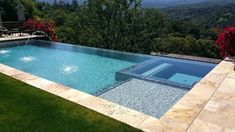Image result for rectangular infinity pool