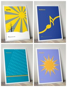 Minimalist vocabulary posters to teach kids (or you) words like effulgent and apricity using graphics. Love!