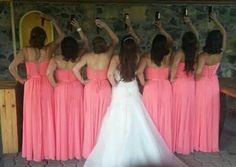 #bridetobe #bridemaids #dresses #damas #wedding