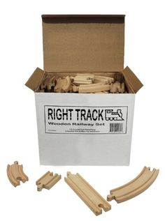 Amazon: 100-piece Wooden Train Track Set - Compatible with Thomas & Friends - only $39.99 shipped!