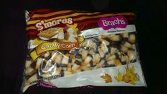 They taste like reg candy corn and first, but do finish with a marshmallow graham flavor..but i think if u eat them by color, each color is one of the smores components!