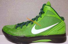 promo code 0c474 03417 Cute Womens basketball shoes Hyperdunk 2011 Geometric Forest Green Silver Nike  Basketball Shoes, Nike Zoom