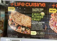 Cauliflower Crust, Chicken Bacon Ranch, Crusted Chicken, Frozen Meals, Meat Chickens, White Meat, Chipotle, Mozzarella, Spinach