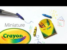 Tiny Crayons Tutorial (That work) - Dolls/Dollhouse - YouTube