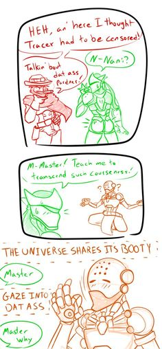 Overwatch Genji Booty comic by foxzombiej Overwatch Genji, Overwatch Comic, Overwatch Memes, Genji Shimada, Gaming Memes, Geek Culture, Computer, Just For Laughs, Funny Comics
