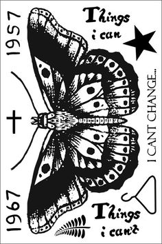Harry Styles Butterfly Temporary Tattoo Sheet